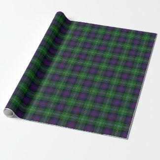 Schottischer Clan-SutherlandTartan Geschenkpapier