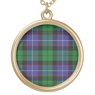 Schottischer Flair-Clan Galbraith Tartan Vergoldete Kette