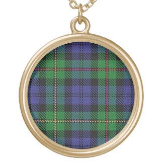 Schottischer Flair-Clan MacEwen Tartan Vergoldete Kette