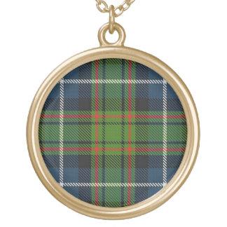 Schottischer Flair-Clan MacRae Tartan Vergoldete Kette