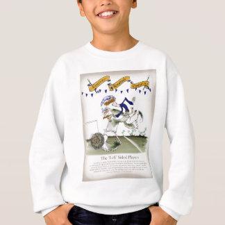 schottischer links Flügelfußballspieler Sweatshirt