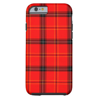 Schottischer roter Tartan Tough iPhone 6 Hülle
