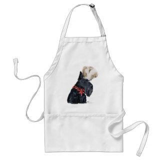 Schottischer Terrier-Koch Schürze