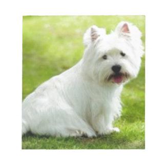schottischer Terrier Notizblock