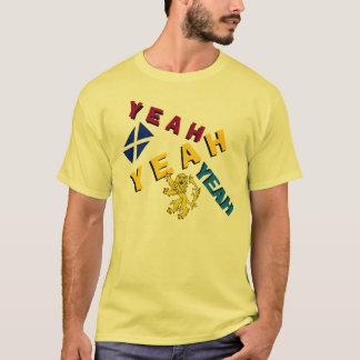 Schottischer Unabhängigkeits-Yeah Löwe-zügelloser T-Shirt