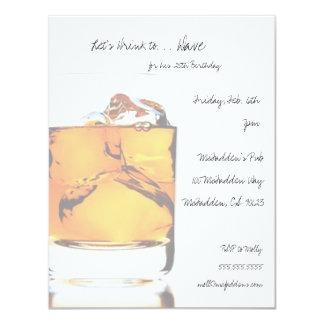 Schottisches Geburtstags-Party Invitaitons 10,8 X 14 Cm Einladungskarte