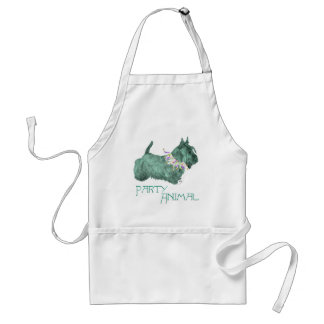 Schottisches Terrier-Party-Tier Schürze
