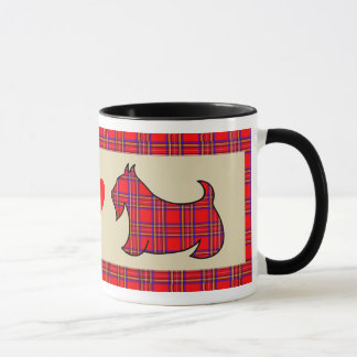 Schottisches Terrier Scotty Tasse