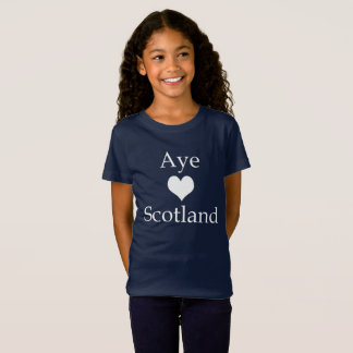 Schottisches Unabhängigkeits-ja Herz Schottland T-Shirt