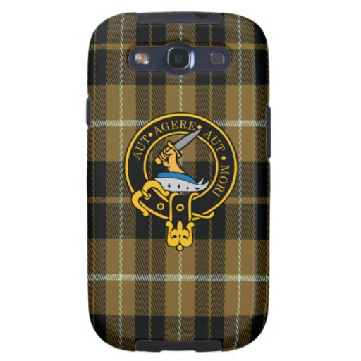 Schottisches Wappen und Tartan S3 Barclays rufen Etui Fürs Galaxy S3