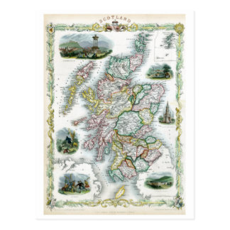 Schottland 1851 postkarte