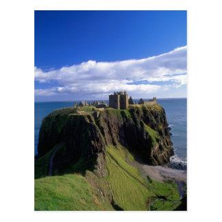 Schottland, Aberdeen. Dunnotar Schloss Postkarte