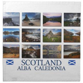 Schottland - alba - Caledonia Stoffserviette