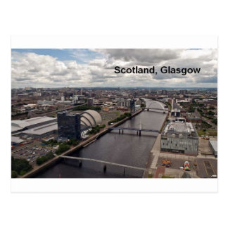 Schottland-Ansicht von Glasgow-Turm (St.K.) Postkarte