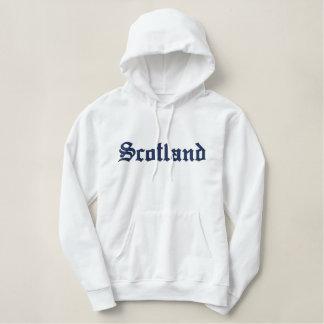 Schottland Bestickter Hoodie
