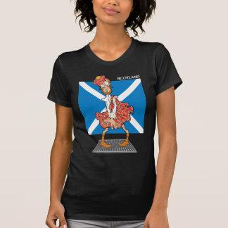 Schottland-Cartoon T-Shirt