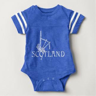 Schottland-Dudelsäcke, Scottish-Entwurf Baby Strampler