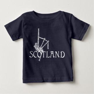 Schottland-Dudelsäcke, Scottish-Entwurf Baby T-shirt