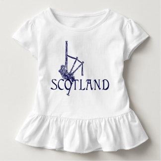 Schottland-Dudelsäcke, Scottish-Entwurf Kleinkind T-shirt