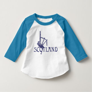 Schottland-Dudelsäcke, Scottish-Entwurf T-Shirt