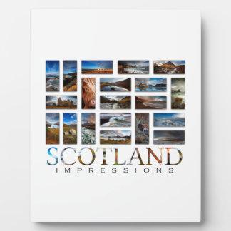 Schottland-Eindrücke Fotoplatte