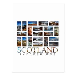 Schottland-Eindrücke Postkarte
