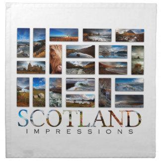 Schottland-Eindrücke Serviette