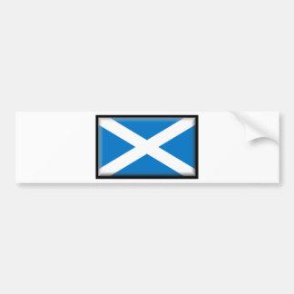 Schottland-Flagge Autoaufkleber