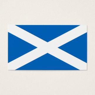 Schottland-Flagge - schottische Flaggen-Andenken Visitenkarte