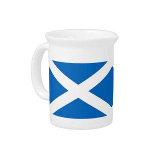 Schottland-Flaggen-Krug Getränke Pitcher