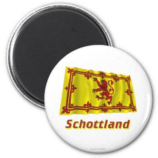 Schottland Fliegende Löwenflagge MIT Namen