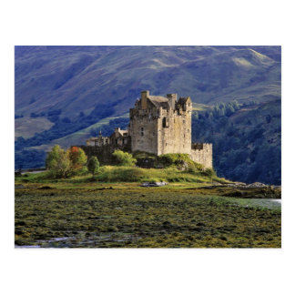Schottland, Hochland, Wester Ross, Eilean Donan 3 Postkarte