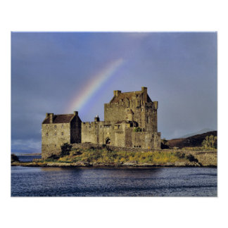 Schottland, Hochland, Wester Ross, Eilean Donan Poster