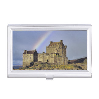 Schottland, Hochland, Wester Ross, Eilean Donan Visitenkarten Etui