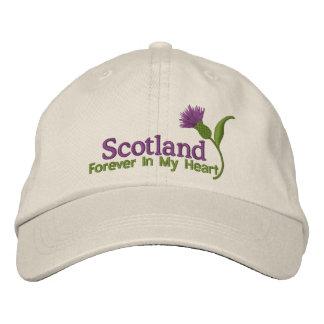 Schottland in meinem Herzen Bestickte Mütze