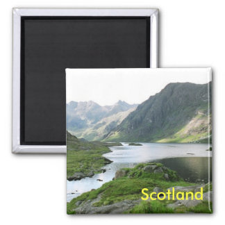 Schottland-Küchenmagnet Quadratischer Magnet