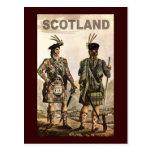 Schottland-Kunst Postkarte