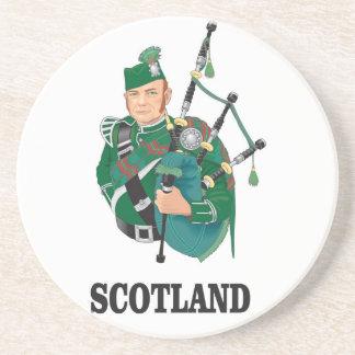 Schottland-Kunst Sandstein Untersetzer