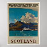 Schottland Kyle Lochalsh des Vintagen Plakate