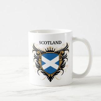 Schottland [personifizieren Sie] Kaffeetasse