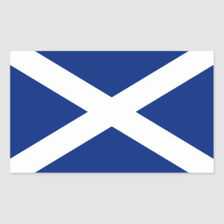 Schottland Rechteckiger Aufkleber