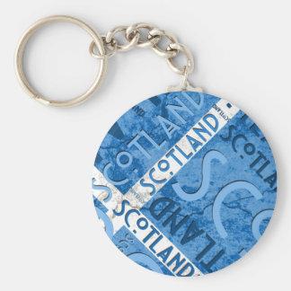 Schottland Saltire Keychain Schlüsselanhänger