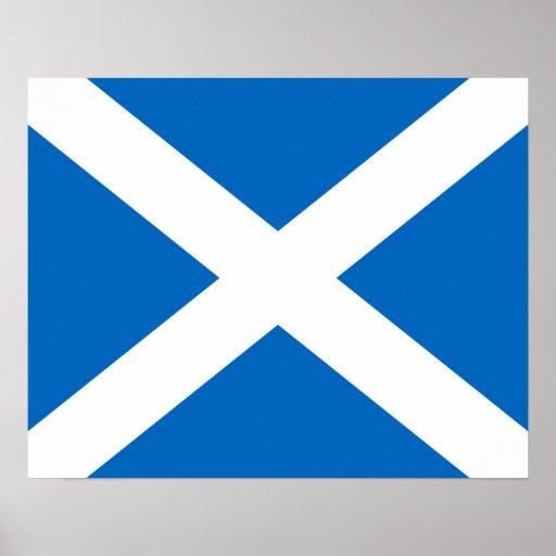Schottland/schottisches Flaggen-Plakat