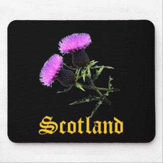 Schottland, thislte mousepad