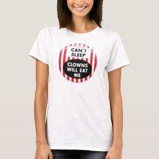 schräge Schlaf-Clowns essen mich T-Shirt