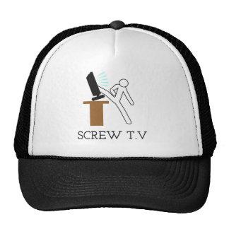 Schraube Fernsehen Retrokult Cap
