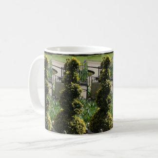 Schrauben-Pflanzen-weißer Kaffee-Tasse Kaffeetasse