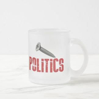 Schrauben-Politik Tasse