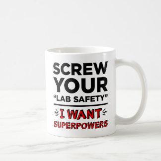 Schrauben Sie Ihre Labrador-Sicherheit, ich wollen Kaffeetasse