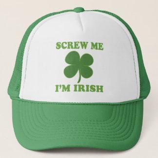 Schrauben Sie mich Iren Im Truckerkappe